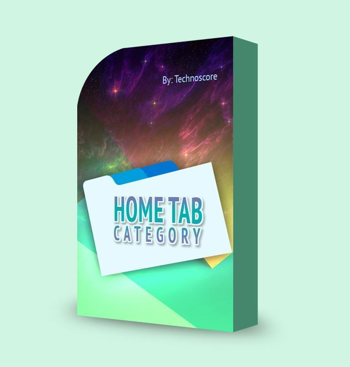 Picture of Home Tab Category